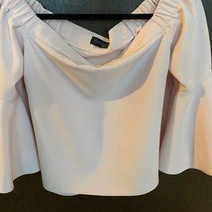 Top shop blouse light pink